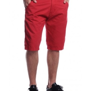 BRENTWOOD MENS WOVEN SHORT AGC140244215 (RED)