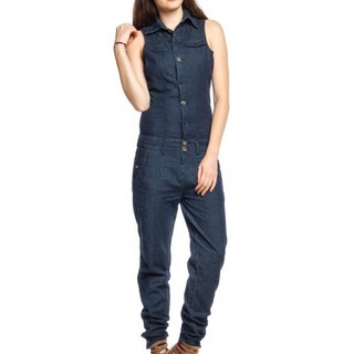 SICKO DENIM OVERALL CHA1307110 (D. BLUE)