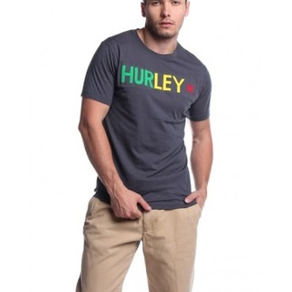 HURLEY MENS SHORT SLEEVE KNITS ROUND NECK AWG141146559 (DARK GRAY)