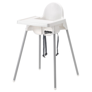Ikea Antilop High Chair with Tray and Safety Belt