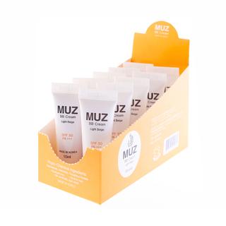 MUZ BB CREAM SPF50 PA+++ (LIGHT BEIGE) 006-BB + Free DASOM Wrinkle Lifting Serum
