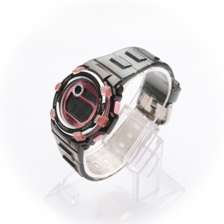 JC WATCH Unisex Digital Watch - Black and Pink (11146421) *WITH FREE SUNGLASSES