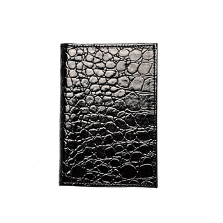 Cassey Kho Black leatheret Passport Holder - 120411