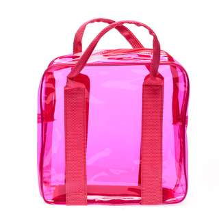 Cassey Kho Pink Transparent Bag - 120414