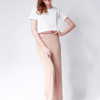 Ashley Collection Christine Square Pants (008-Beige)