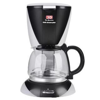 3D CM - 2027 1.25L Coffee Maker (Black)