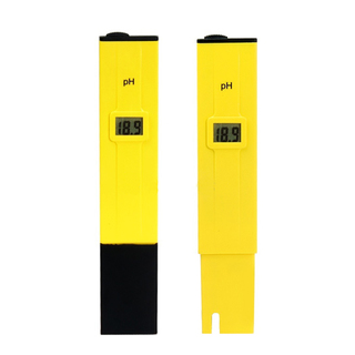 Pocket Sized PH Meter with ATC - Yellow