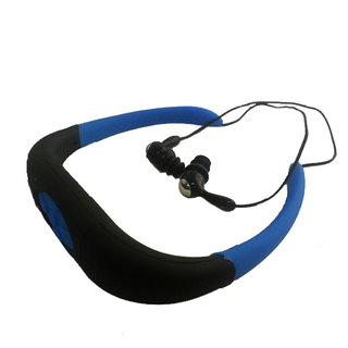8GB Waterproof MP3 Headset - Blue