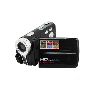20 MP 16X Digital Zoom HD Digital Video Camera - Black