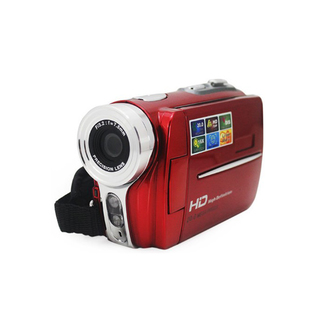 20 MP 16X Digital Zoom HD Digital Video Camera - Red