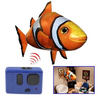 Remote Controlled Flying Clownfish