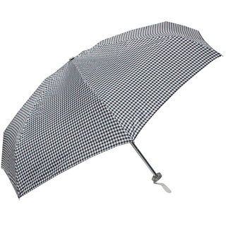 Plaid Manual Trifold Checkered Umbrella