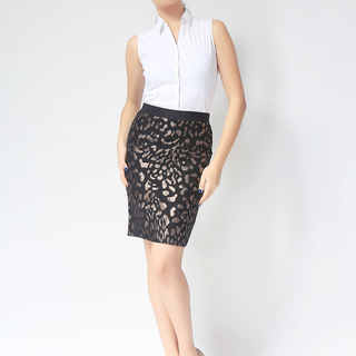 ANN TAYLOR LADIES PENCIL CUT SKIRT (ACC150547215)