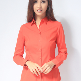 G2000 LADIES LONG SLEEVE WOVEN WITH COLLAR (AJY150547498)