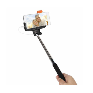 Monopod Selfiepod With Wired Shutter - Black