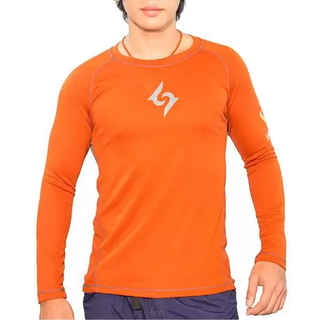 LAGALAG Men's  Alas Long Sleeves (Orange)