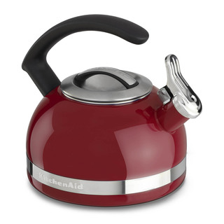 KitchenAid Porcelain Enamel Kettle  Empire Red KTEN20CBER