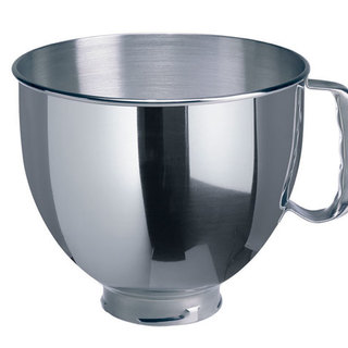 KitchenAid 5Qt Tilt Head Polished Stainless Steel Bowl with Comfortable Handle Stainless Steel K5THSBP