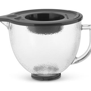 KitchenAid  5Qt Hammered Glass Bowl Glass K5GBH