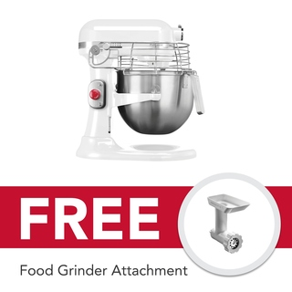 KitchenAid 7Qt Professional Stand Mixer White 5KSM7990XBWH 220V