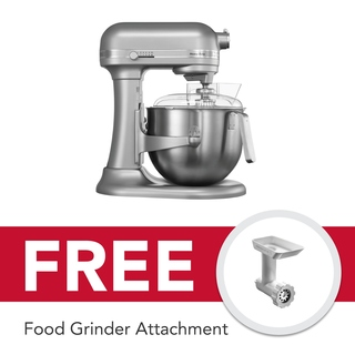 KitchenAid 7Qt Heavy Duty Stand Mixer Silver Metallic 5KSM7591XBSM 220V
