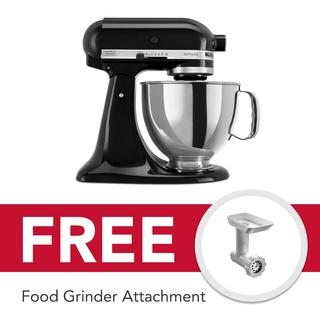 KitchenAid 5Qt Artisan Stand Mixer Onyx Black 5KSM150PSBOB 220V