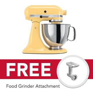 KitchenAid 5Qt Artisan Stand Mixer Majestic Yellow 5KSM150PSBMY 220V