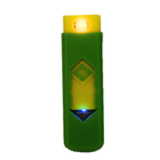 USB Electronic Rechargeable Battery Flameless Cigar Cigarette Lighter (Green)