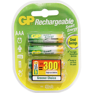 GP Batteries Smart Energy Rachargeable - AAA 4 pcs. (GPGPRHC043C015)