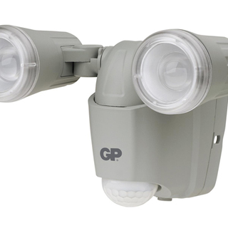 GP Batteries Wireless Outdoor Led Sensor Light Safeguard RF2 - Cool Gray (GPGPACELSS2001)