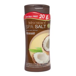 Mychoice Spa Salt Bottle Coconut (500g)