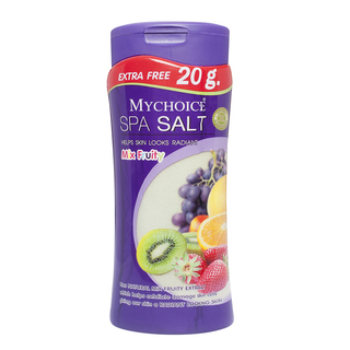 Mychoice Spa Salt Bottle Mix Fruity (500g)
