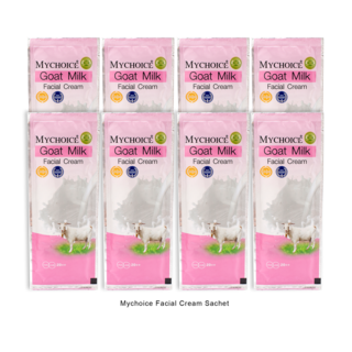 My Choice Facial Cream Sachet 10g Packed by 8's