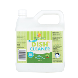 Messy Bessy Natural Dish Cleaner Aloe Green Tea 2 L