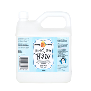 Messy Bessy Hand and Body Wash Ocean Rain 2 L
