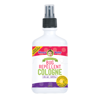 Messy Baby Bug Repellent Cologne 200 ml