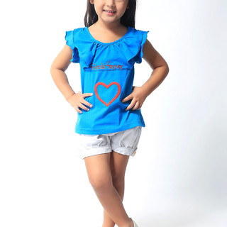 BASICS FOR KIDS GIRLS BLOUSE - BLUE (G307125-G307135)