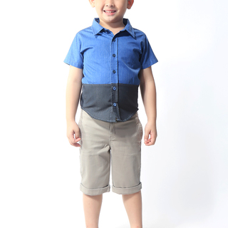 BASICS FOR KIDS BOYS POLO - BLUE (B308855-B308865)