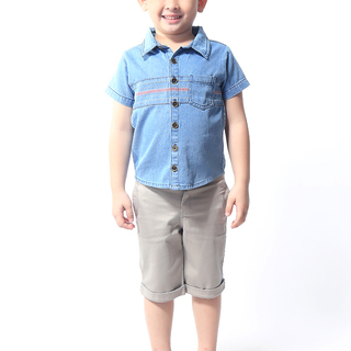 BASICS FOR KIDS BOYS POLO - BLUE (B308835-B308845)