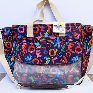 LifeSavers Diaper Bag (LOVE Print)