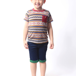 BASICS FOR KIDS BOYS SHIRT - GRAY (B308798-B308808)