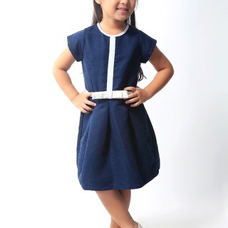 BASICS FOR KIDS GIRLS DRESS - BLUE (G904865-G904875)