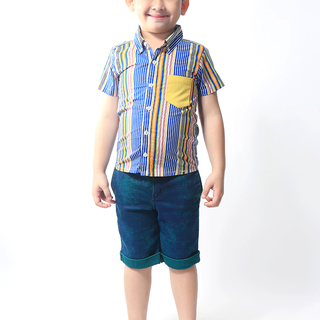 BASICS FOR KIDS BOYS POLO - YELLOW (B308814-B308824)