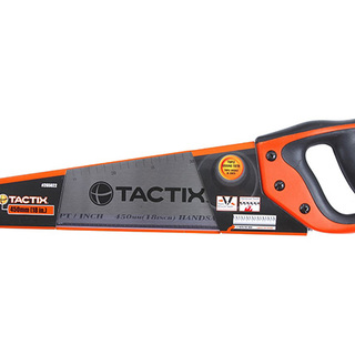 Tactix Hand Saw-Polish - 18 inch. - Black/Orange (ME265022)