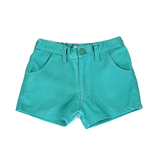 BASICS FOR KIDS GIRLS SHORT - GREEN (G502327-G502347)