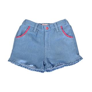 BASICS FOR KIDS GIRLS SHORT - BLUE (G502245-G502255)