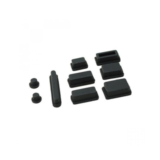 Apple Anti-Dust Plug Kit for MacBook Air-Pro – Black