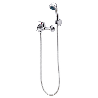 Eurostream Elbe Series - Single Handle Tub Faucet & Shower (DZF16BR009CP)