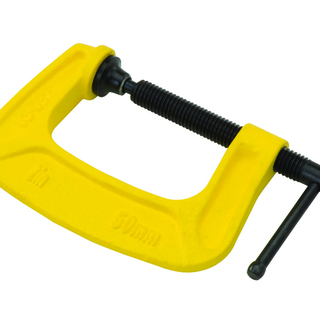 Stanley C-clamp 57x75mm - Yellow (ST83033K)