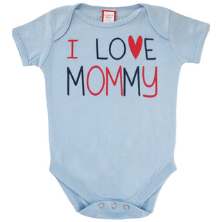 Bug & Kelly I Love Mommy Onesie for Boys